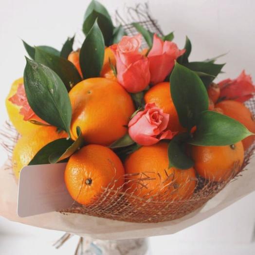 Съедобный букет 10: букеты цветов на заказ Flowwow