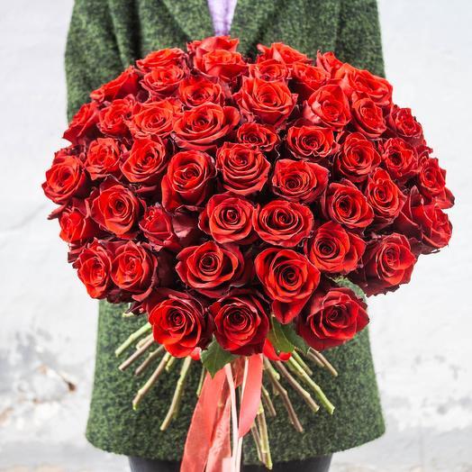 Букет из 51 розы Эквадор