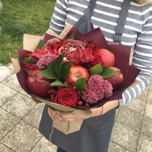 Фруктовый красавчик: букеты цветов на заказ Flowwow