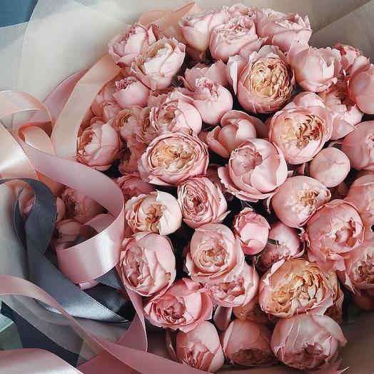 Воздушная Джульетта: букеты цветов на заказ Flowwow