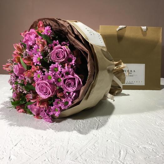 Признание в любви: букеты цветов на заказ Flowwow