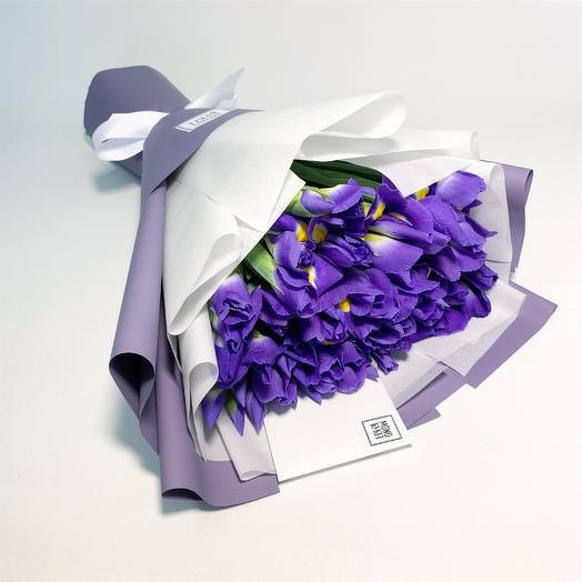 Синяя ночь: букеты цветов на заказ Flowwow