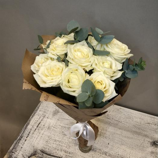 Классический белый: букеты цветов на заказ Flowwow