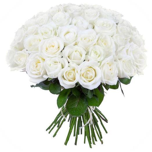 Премиум белые розы