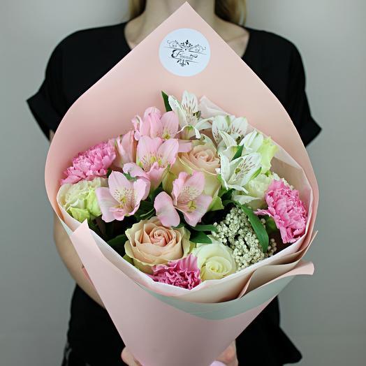 Же Тэм: букеты цветов на заказ Flowwow