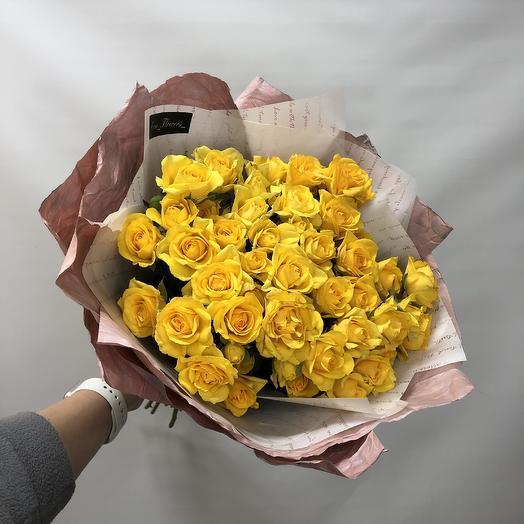 Букет солнышко: букеты цветов на заказ Flowwow