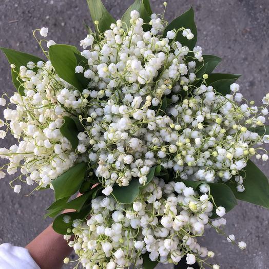 Нежнейший букет из ландыша: букеты цветов на заказ Flowwow