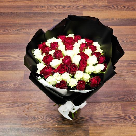 51 микс из роз: букеты цветов на заказ Flowwow