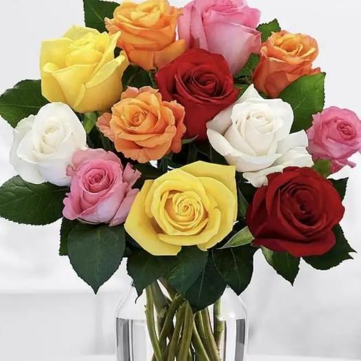Букетик из подмосковных роз