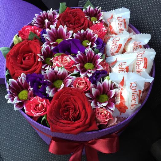 Цветы в коробке 4417