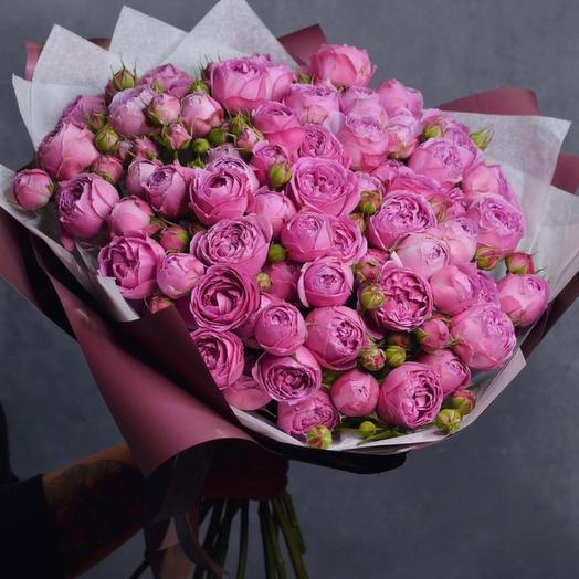 Премиум пионовидная Роза