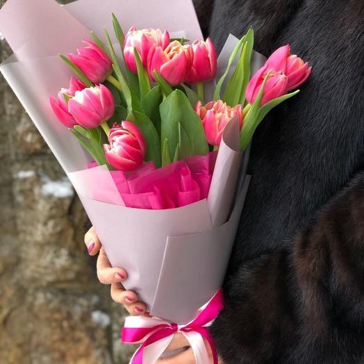 Пионовидные тюльпаны в ассортименте