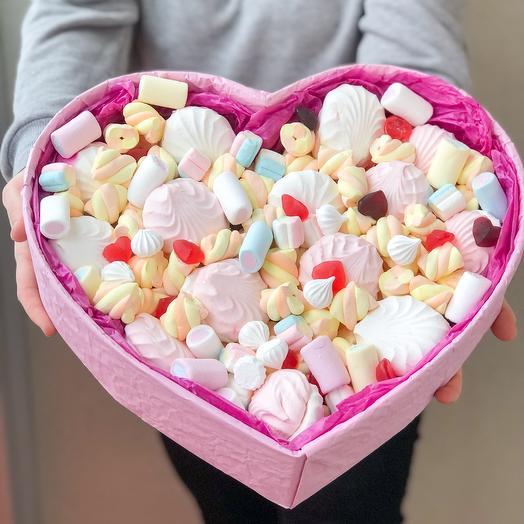 Сладкий набор «Сердце и Сладости»