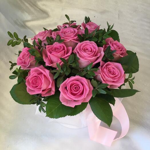 """Розы в коробочке """"Келли"""""""