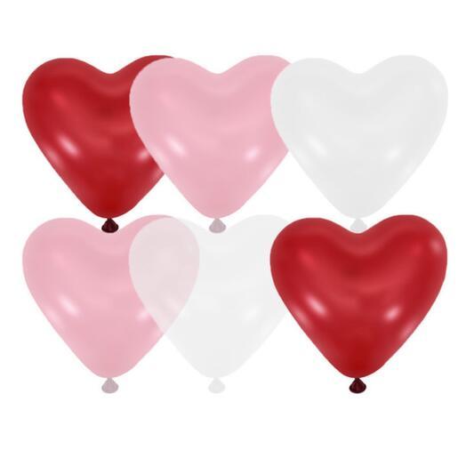 Шары-сердца (8 шт)