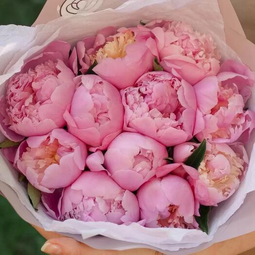 «Розовые пионы»