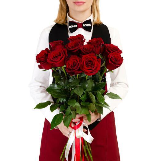 """Моно из 11 красных роз """"Танго вдвоем"""""""