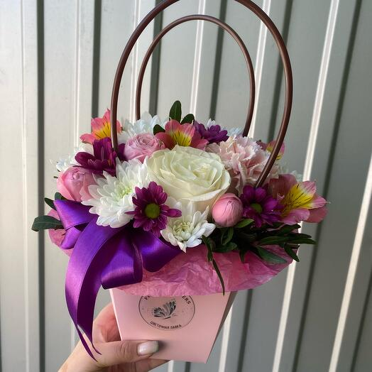 Цветы в сумочк «Робкая Надежда»