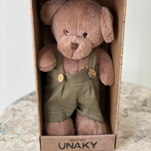 Мишка в коробке