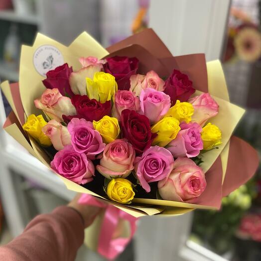 «25 роз Кения»