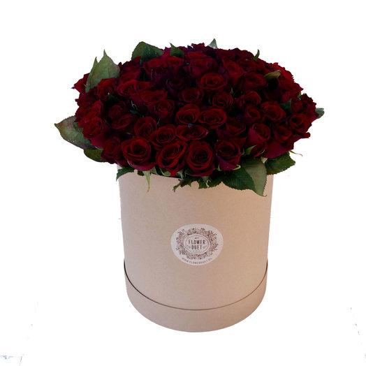Макси бокс Craft: букеты цветов на заказ Flowwow