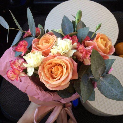 Комплимент букет: букеты цветов на заказ Flowwow