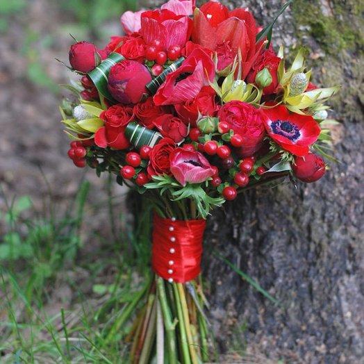 Ред ай: букеты цветов на заказ Flowwow
