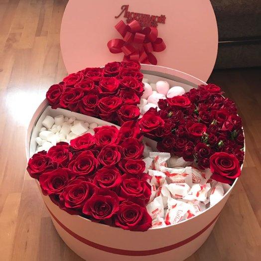 Огромный сюрприз: букеты цветов на заказ Flowwow
