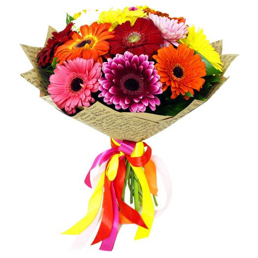 Букет 116 - 15 гербер: букеты цветов на заказ Flowwow