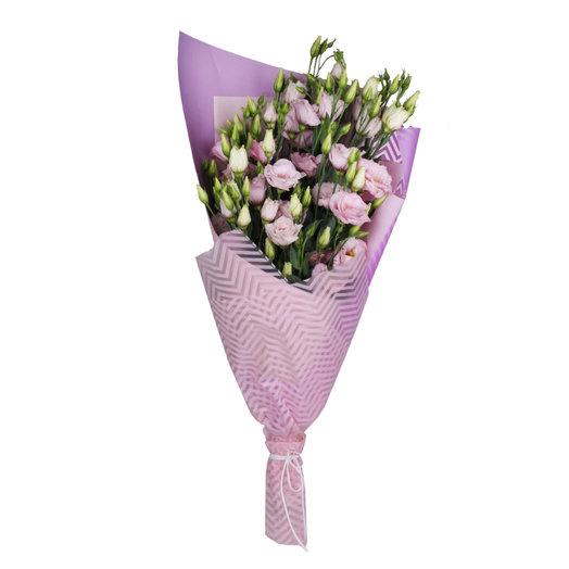 7 веток лизиантуса : букеты цветов на заказ Flowwow