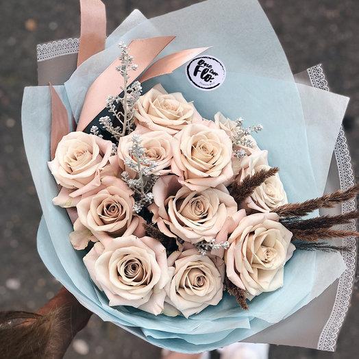 Роза menta: букеты цветов на заказ Flowwow