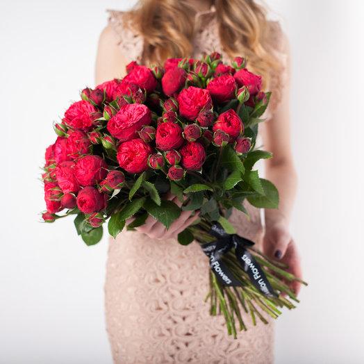 Букет из 51 «Рэд Пиано»: букеты цветов на заказ Flowwow