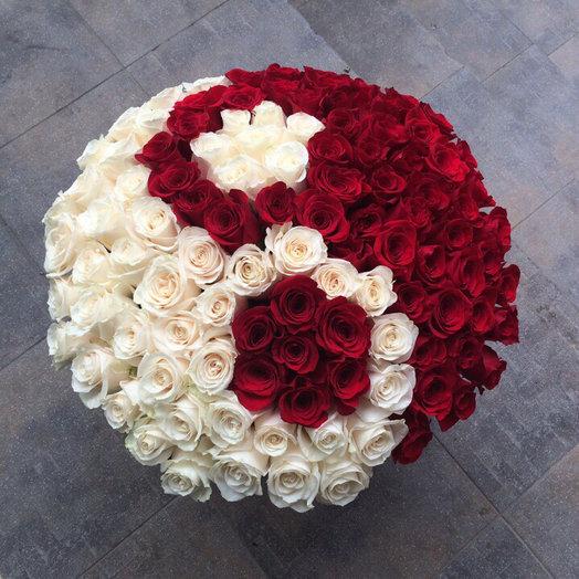 171 роза: букеты цветов на заказ Flowwow