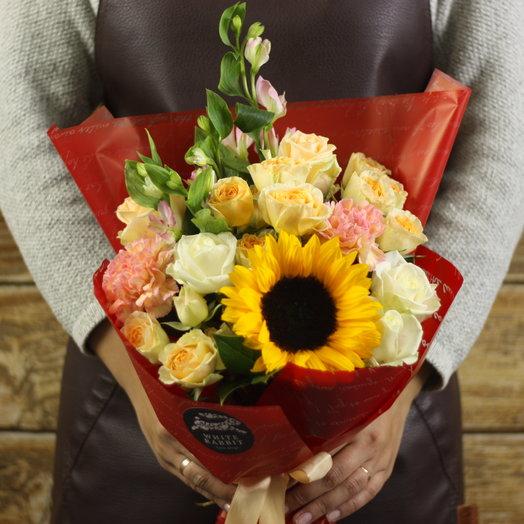 Яркий Мистер: букеты цветов на заказ Flowwow