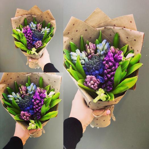 Гиацинты в соку: букеты цветов на заказ Flowwow