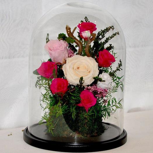 """КОМПОЗИЦИЯ """"БЕЛОСНЕЖКА И СЕМЬ ГНОМОВ"""": букеты цветов на заказ Flowwow"""
