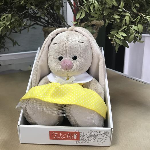 Игрушка заяц: букеты цветов на заказ Flowwow
