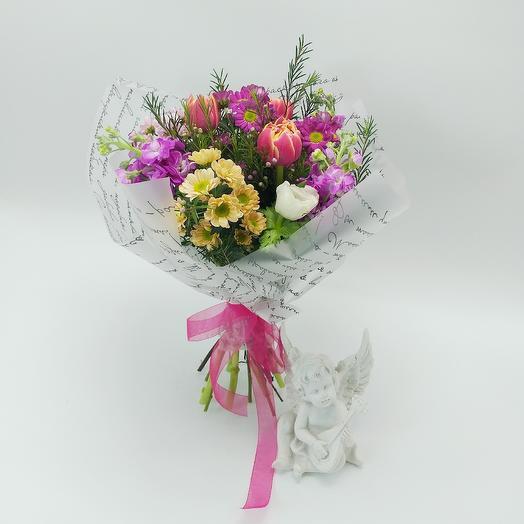 "Букет ""Стихи Пушкина"": букеты цветов на заказ Flowwow"