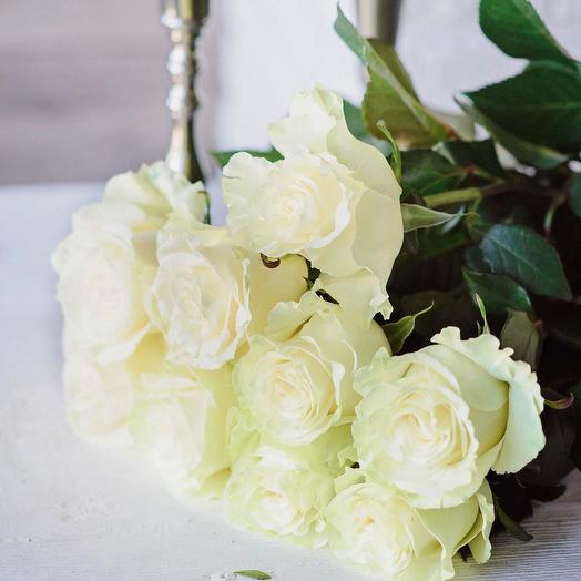 9 эквадорских роз «Великолепный Век»: букеты цветов на заказ Flowwow