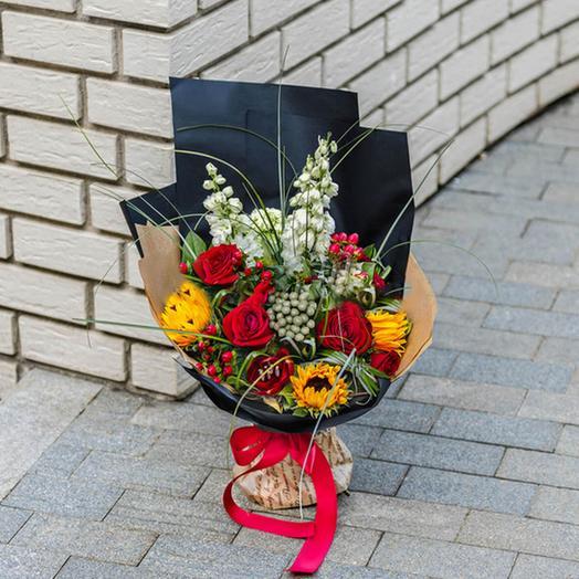 "Букет ""Мужской Подарок"": букеты цветов на заказ Flowwow"