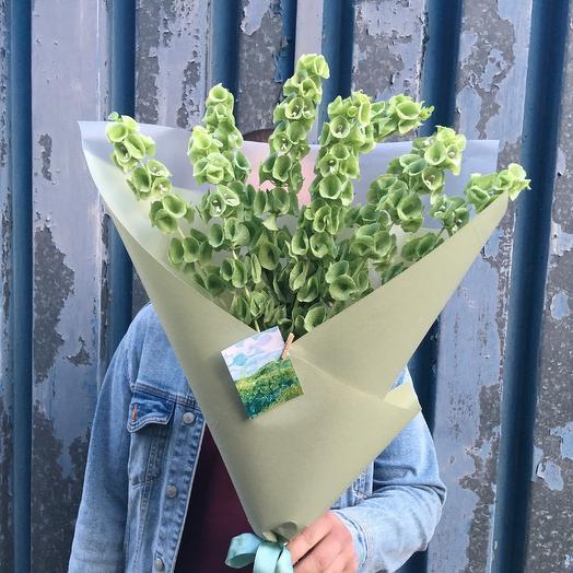 Ирландские колокольчики: букеты цветов на заказ Flowwow