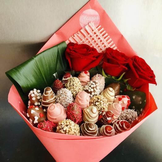 «Клубничный десерт»