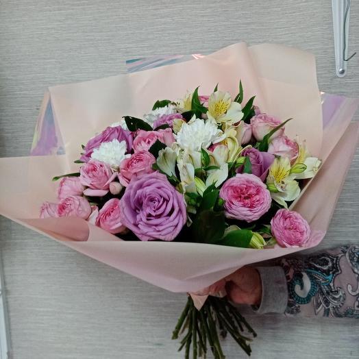 Розовый свет: букеты цветов на заказ Flowwow