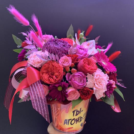 Ты-агонь: букеты цветов на заказ Flowwow