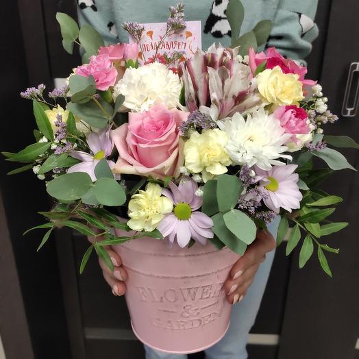 Цветочное наслаждение: букеты цветов на заказ Flowwow