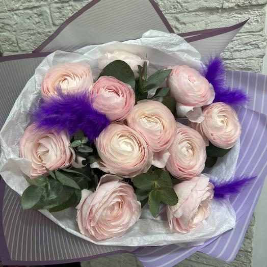 Шикарные ранункулюсы для шикарной леди: букеты цветов на заказ Flowwow