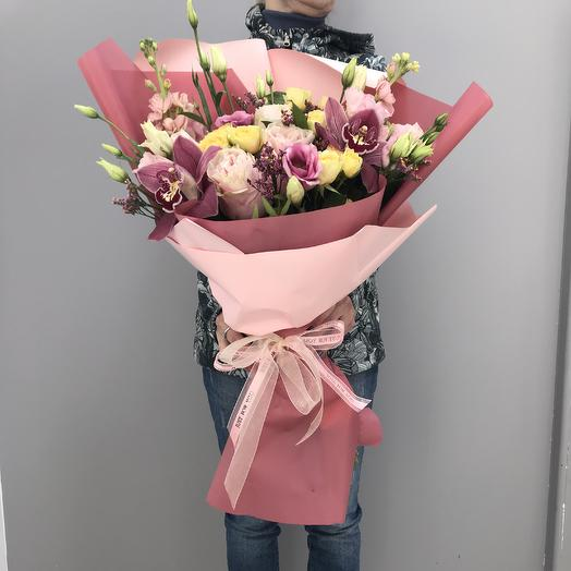 14 февраля номер 3: букеты цветов на заказ Flowwow