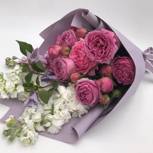 Букет Притяжение: букеты цветов на заказ Flowwow