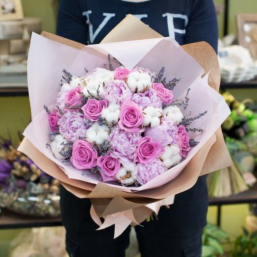 Букет цветов Агнесса