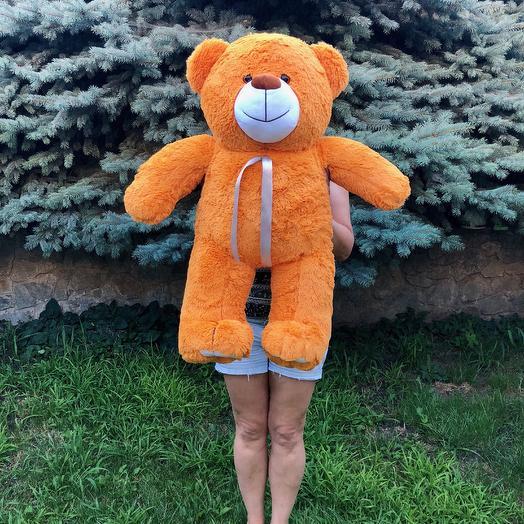 Плюшевий ведмедик 100 см карамельний